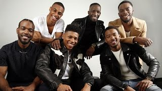 "The New Edition BET Movie ""Crew Can Really Sing Freestyling On Set"""
