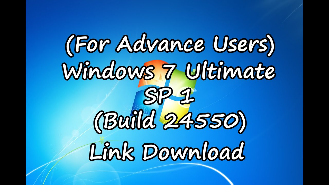 Windows 7 Ultimate SP1 Lite (Build 24535) Goo…