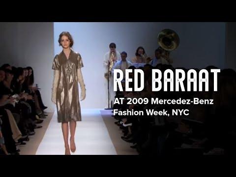 Red Baraat at 2009 Mercedez-Benz Fashion Week, NYC