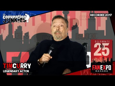 Tim Curry Clue, The Rocky Horror Picture   eXpo Canada  Full Panel