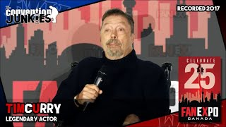 Смотреть Tim Curry (Clue, The Rocky Horror Picture Show) FAN eXpo Canada - Full Panel онлайн