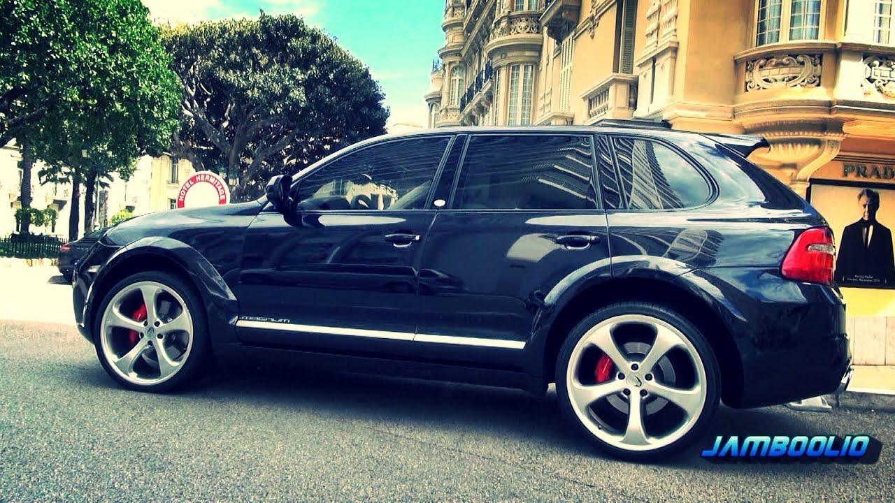 600hp Techart Magnum Porsche Cayenne Loud Accelerations