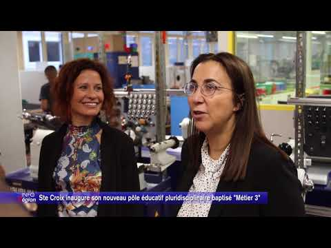 """Ste Croix inaugure son nouveau pôle éducatif pluridisciplinaire baptisé """"Métier 3"""""""