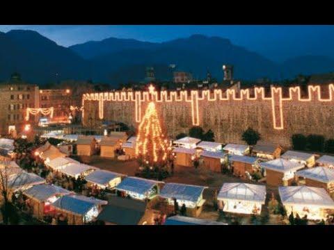 Natale A Trento.Trento Mercatini Di Natale 2018 Weihnachtsmarkte Christmas Markets Marche De Noel Youtube