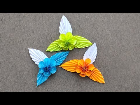 How to Make Beautiful Flower with Paper // DIY Paper Flowers // Making Paper Flowers Step by Step