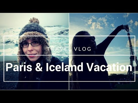 His Phone's Locked & The Road's Flooded// Paris & Iceland Travel Vlog, Day 0