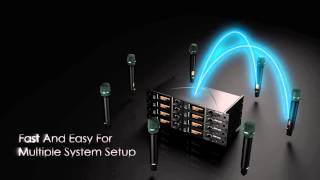 JTS UF 20 Series Dual Channel Wideband True Diversity System JTS UF 20