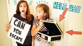 TRYING TO ESCAPE OUR PARENTS ROOM!!