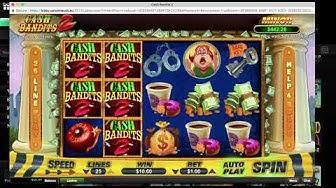 CASH BANDITS 2 at UPTOWN ACES walkthrough (online casino) || best online slots ||
