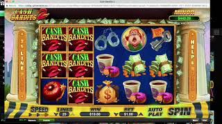 CASH BANDITS 2 at UPTOWN ACES walkthrough (online casino) || best online slots ||