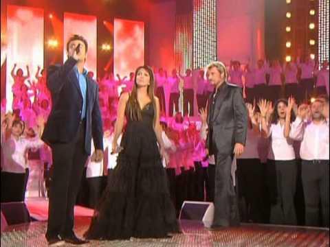 Vivre Pour Le Meilleur   Les 500 Choristes Ensemble   Helene Segara Et Johnny Hallyday E 0