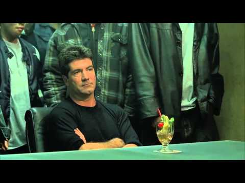Simon Cowell get killed in Scary Movie 3. Subs + Good quality