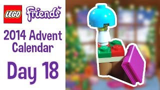 Lego Friends 2014 Advent Calendar - Day 18 - An End Table And Book!