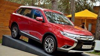 Презентация обновленного Mitsubishi Outlander в Украине от