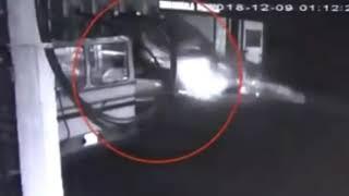Ratmalana accident CCTV video