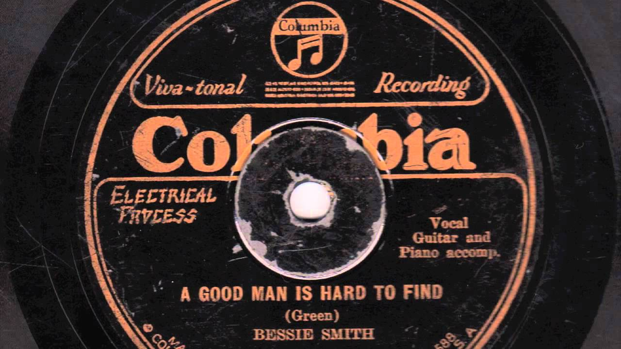 a good man is hard to inch bessie smith