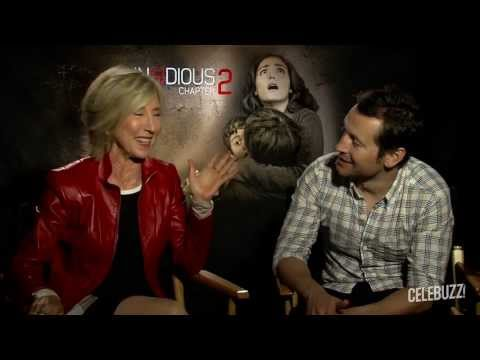 'Insidious Chapter 2' Interview: Lin Shaye & Leigh Whannell
