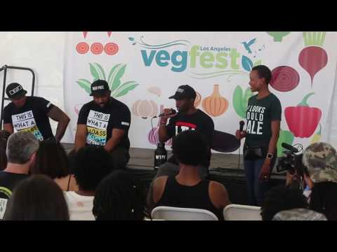keeping it real panel @vegfestla