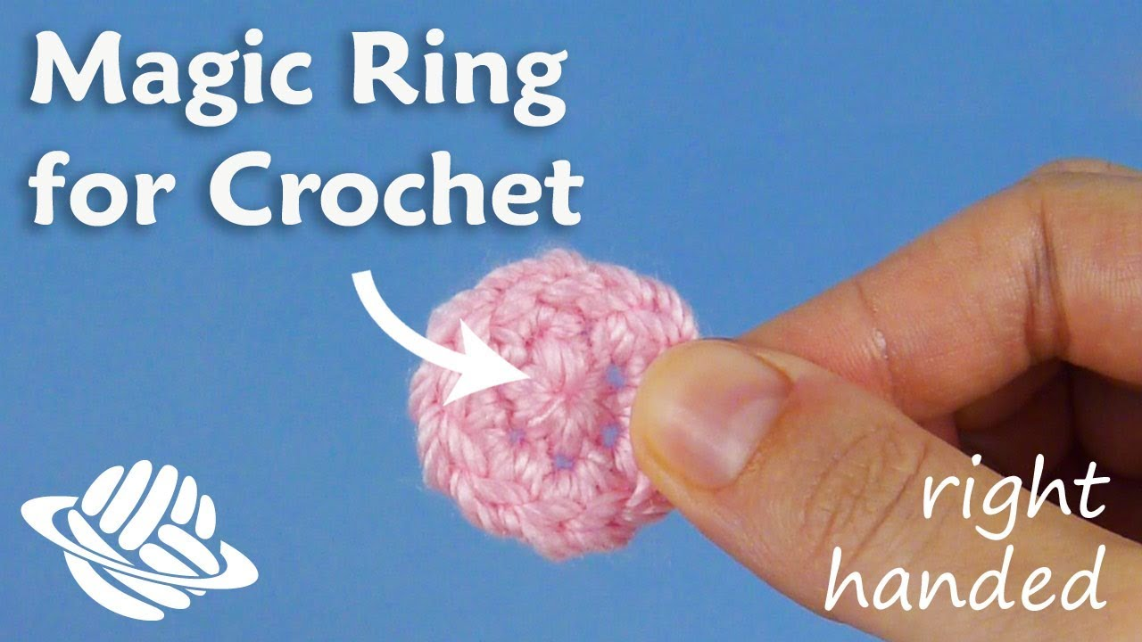 Magic Ring for Crochet (right-handed version)