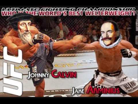Resultado de imagem para calvinista x arminiano fight