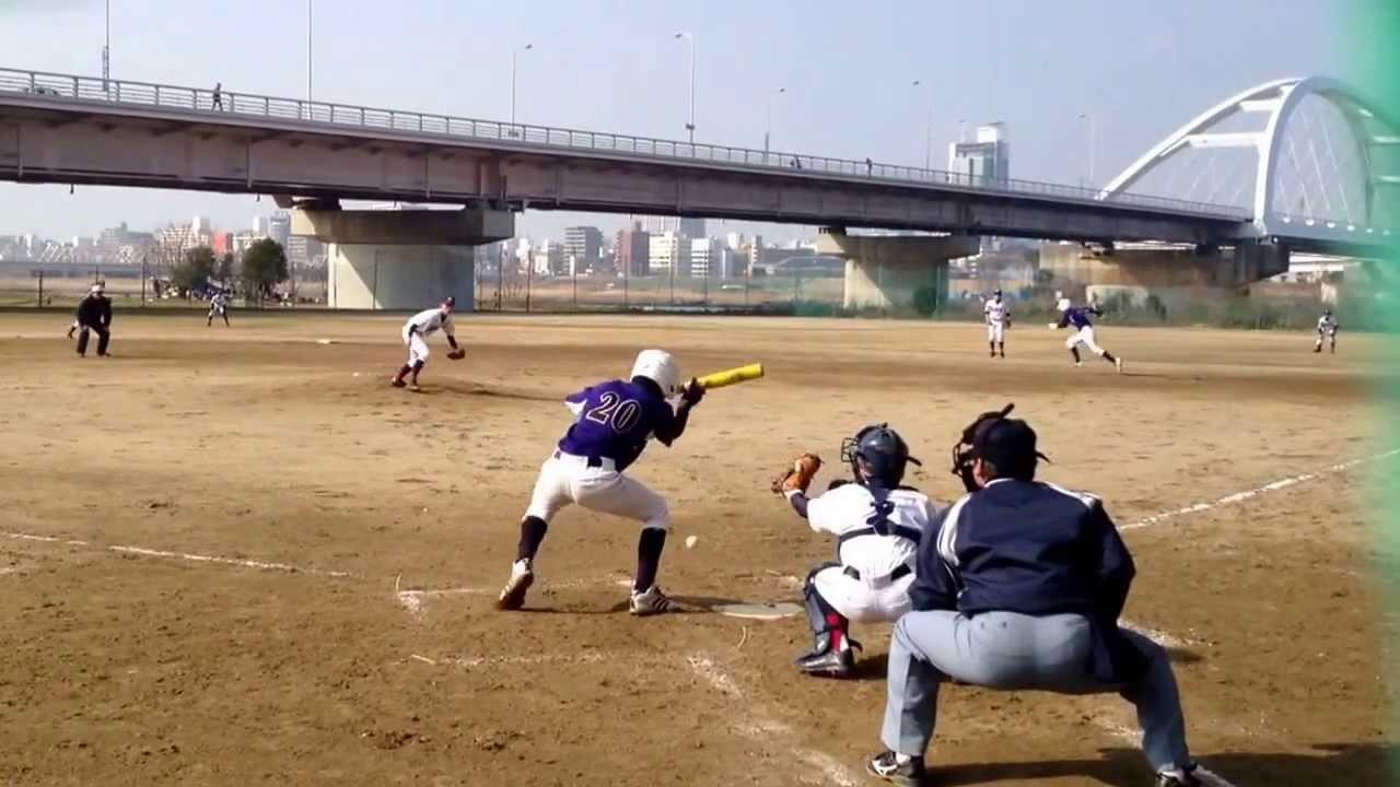 中学軟式野球(中2) 大阪 都島2014.2.2