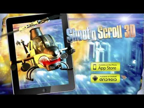 Shoot'n'Scroll 3D - Arcade action for Android, iOS, MacOs and Windows