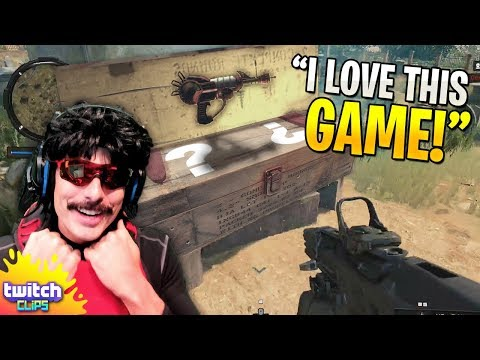 DrDisrespect Finds MYSTERY BOX and Zombies in Blackout! [COD Battle Royale Beta Highlight Moments]