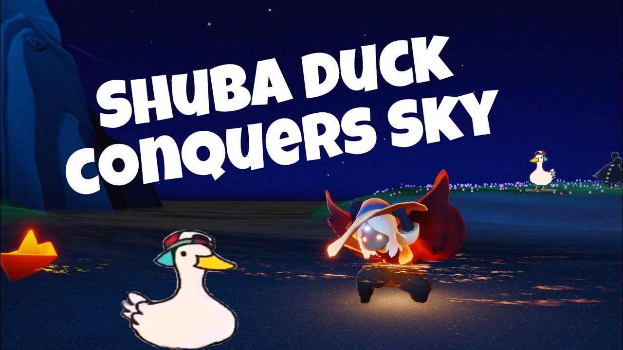 WHAT IF - Shuba Duck conquers all Sky realms 🦆 | sky children of the light | Noob Mode