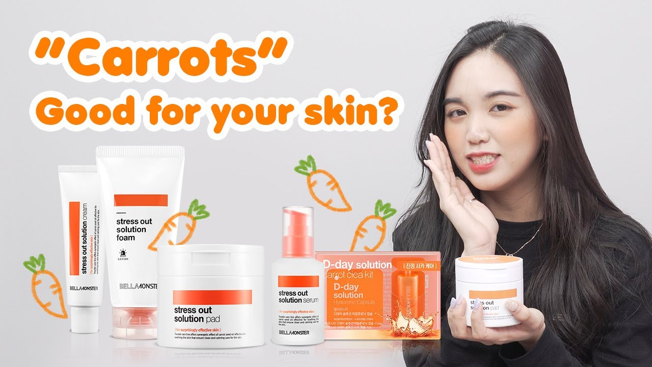 [Try Me Review Me] Don't Eat Carrots! Apply on your skin with BELLAMONSTER