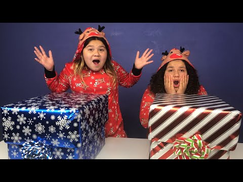 Don't Choose the Wrong Christmas Present Challenge 2! REAL PRESENTS AGAIN!!