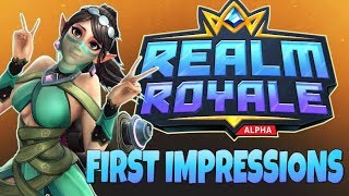 "Realm Royale (Review) - ""Does Fortnite Have Competition?"" ... First Impressions of Early Access"
