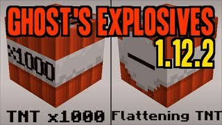 GHOST'S EXPLOSIVES MOD 1.12.2 minecraft - how to download and install TNT mod 1.12.2 (with forge)