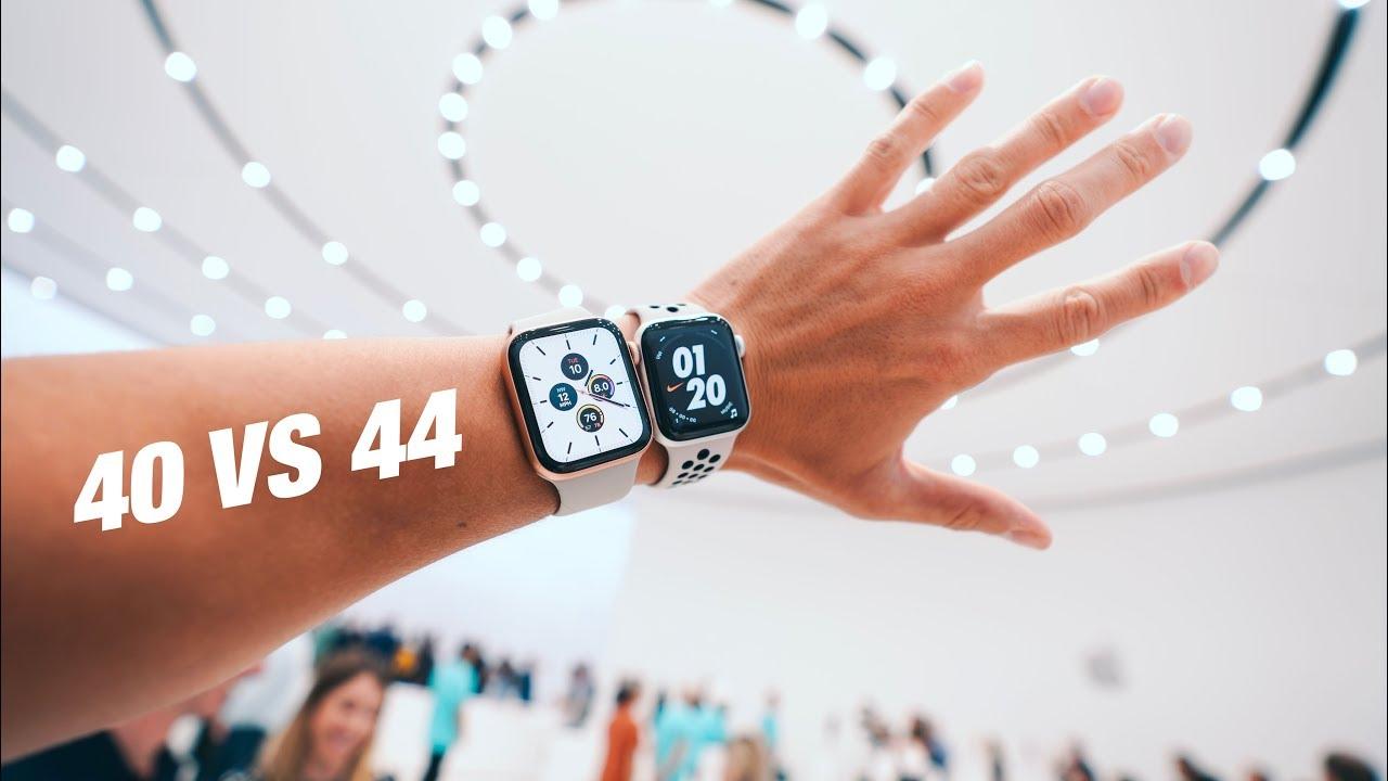 Apple Watch Series 5 40mm Vs 44mm Youtube