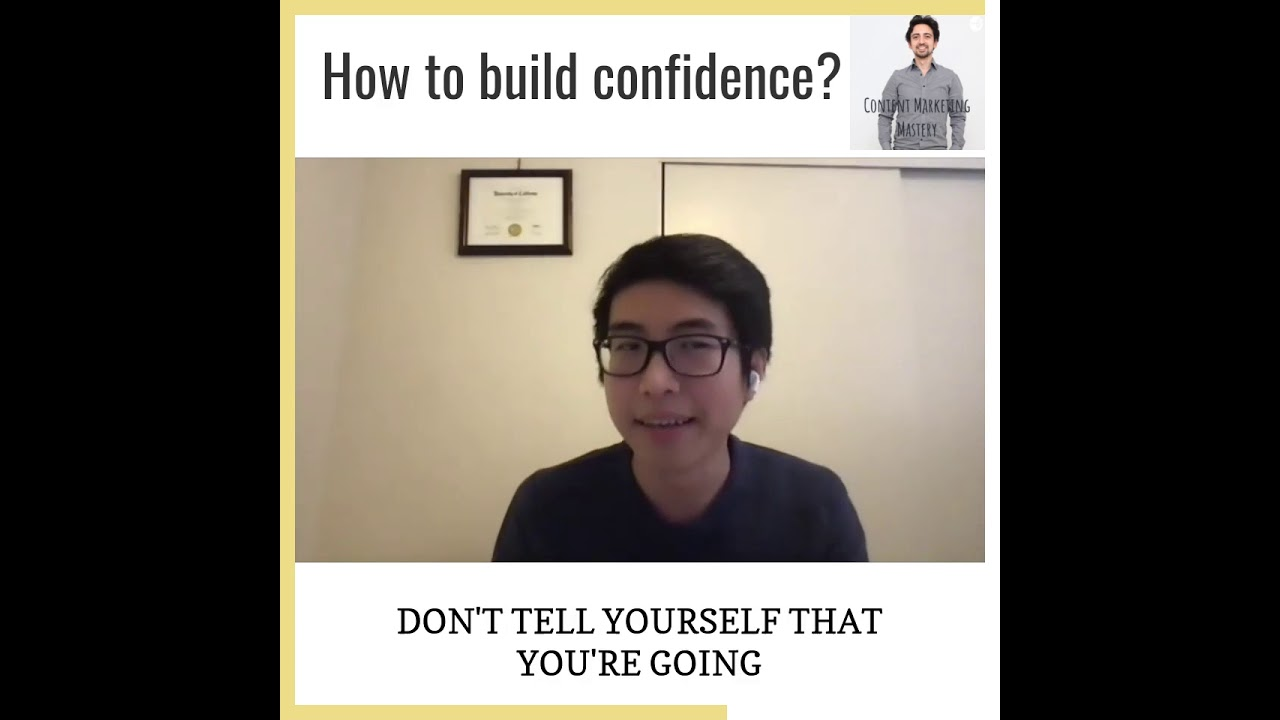 How to become more confident?