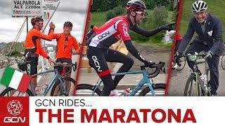 GCN Rides The Maratona dles Dolomites 2017
