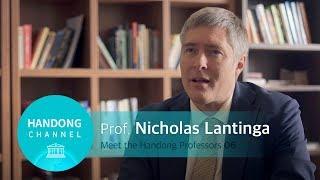 Meet the Handong Professors 06 - Nicholas Lantinga