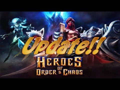 Heroes Of Order And Chaos Update #2 Gameplay/Review