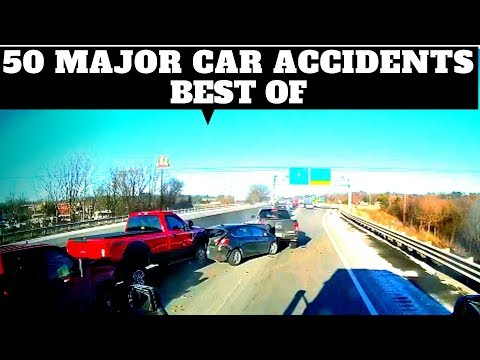 USA/CANADA/AU/ 50 MAJOR CAR ACCIDENTS/ HOW NOT TO DRIVE/ DASH CAM/BAD DRIVERS