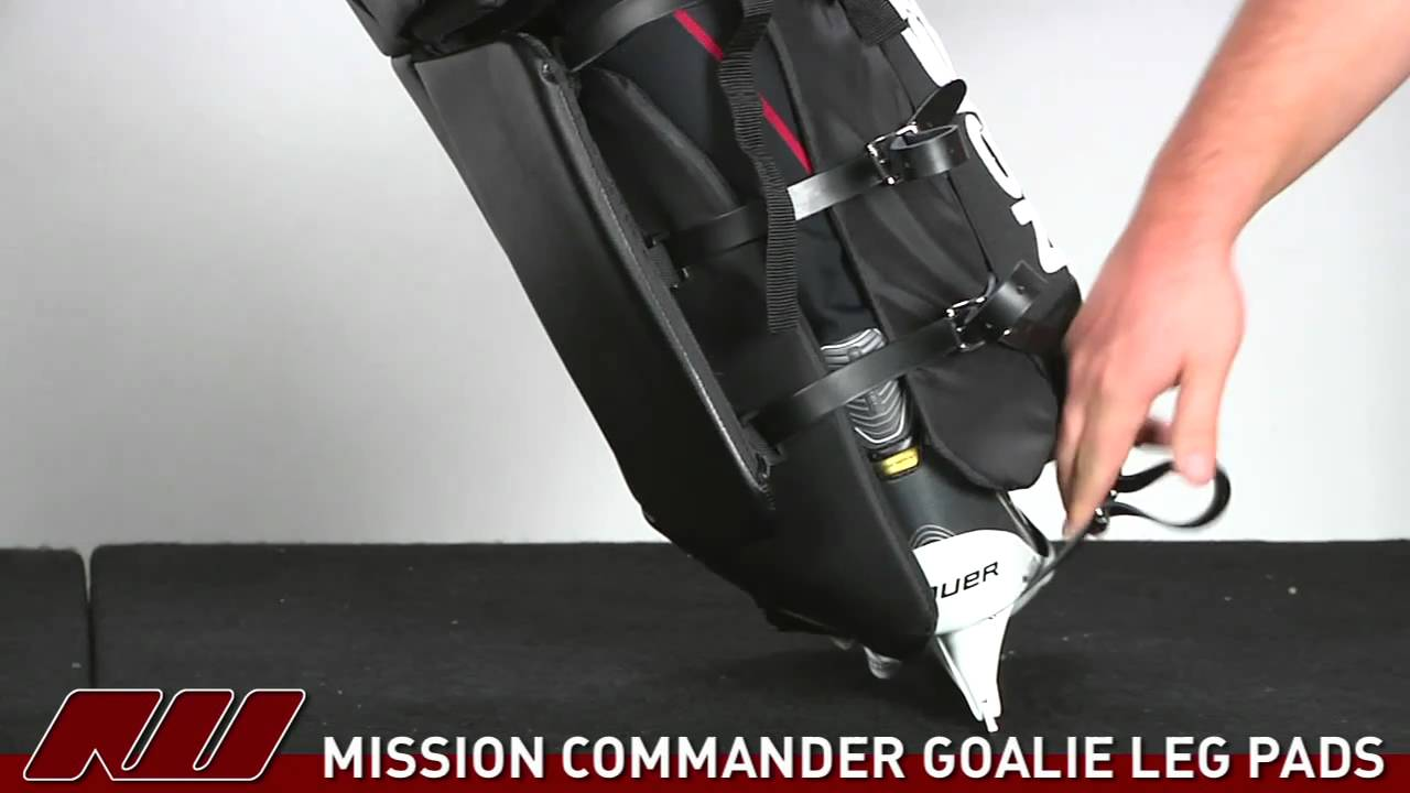 Mission Commander SE Goalie Leg Pad