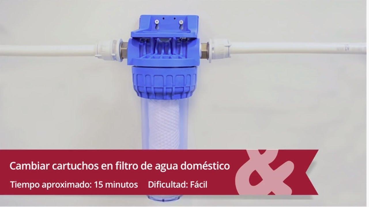 C mo realizar el mantenimiento en un filtro de agua for Descalcificador de agua casero