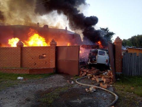 Взрыв газа в Боровском