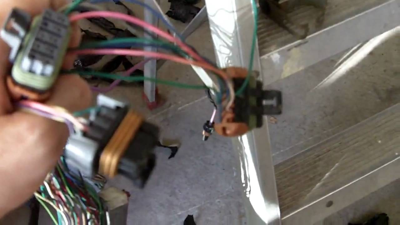 2000 Ls1 And Wire Harness Description Youtube Ls Engine Coil Wiring