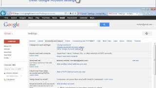 how to Change your gmail recovery email address