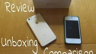 iphone 6 unboxing review and 4s comparison