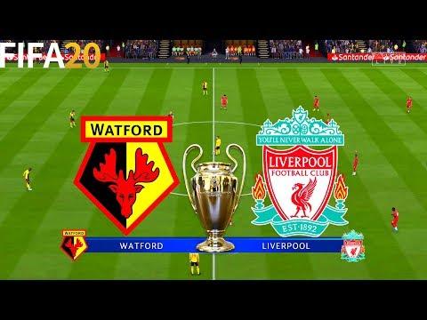 FIFA 20   Watford vs Liverpool - UEFA Champions League - Full Match & Gameplay