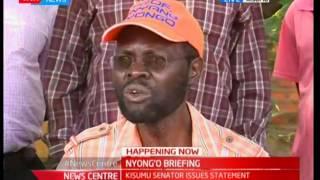 Kisumu Gubernatorial Candidate Anyang' Nyong'o Challenges IEBC To Investigate Governor Ranguma