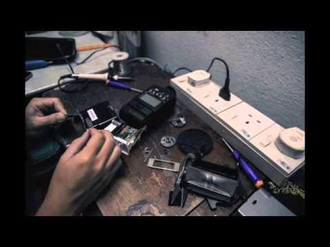 replacing the canon 550ex xenon flash tube