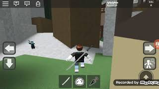 ROBLOX 1 Epic Map Be a ninja parkour leave you like or I'll kill you