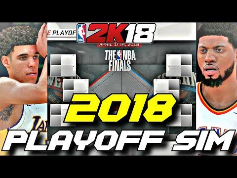 SIMULATING THE 2018 NBA PLAYOFFS IN NBA2K18!! YOU WON