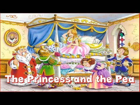3D Fun Fairy Tale - The Princess and the Pea - Bedtime Tale For Kids